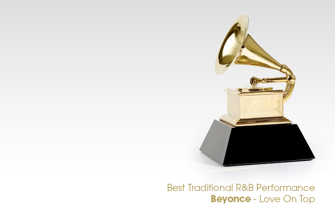 2013 Grammy Winner: Best Traditional R&B Performance